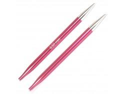 KnitPro Zing 6,5 mm - špičky vymeniteľných ihlíc