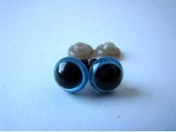 Bezpečnostné očká - modré