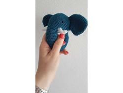 Návod na hačkovaného sloníka - ZDARMA (pri kúpe Catona 25 g)