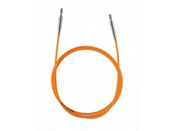 KnitPro lanko 80 cm - oranžové