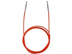 KnitPro lanko 100 cm - červené