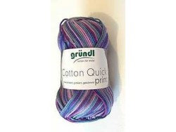 Cotton Quick Print - aubergine multicolor 171