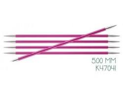 KnitPro Zing - ponožkové ihlice 5,0 mm