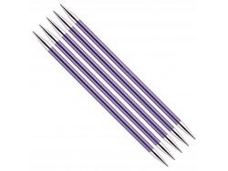 KnitPro Zing - ponožkové ihlice 7.0 mm