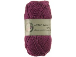 Cotton Quick Uni - orchideová