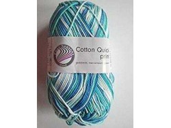 Cotton Quick Print - Aqua multicolor 183
