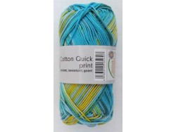 Cotton Quick Print - Oceán multicolor 232