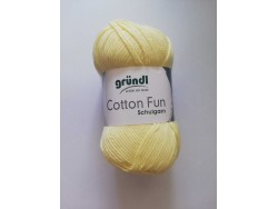 Cotton Fun - pastelová žltá