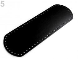 Dno na kabelky - čierne (10 x 30 cm)