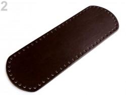 Dno na kabelku - hnedé (10 x 30cm)
