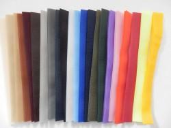 Suchý zips 20 mm - bordový (farba 05)