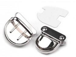 Zapínanie na kabelky - strieborné - sada