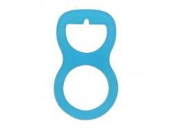 Silikonový adaptér na cumlík- modrý