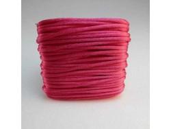 Saténová šnúrka - fialkovočervená