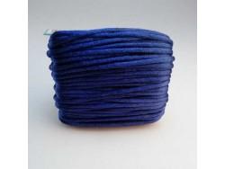 Saténová šnúrka - tmavo modrá