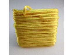 Saténová šnúrka - žltý