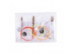 KnitPro Symfonie - štartovací set vymeniteľných ihlíc
