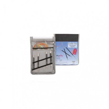 Knit Pro Karbonz - Set vymeniteľných ihlíc