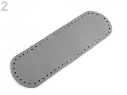 Dno na kabelku - šedé - (10 x 30 cm)