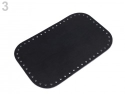 Dno na kabelku - čierne (18 x 28 cm)
