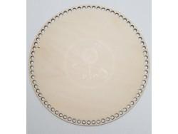Drevené dno na košík - kruh (36cm)