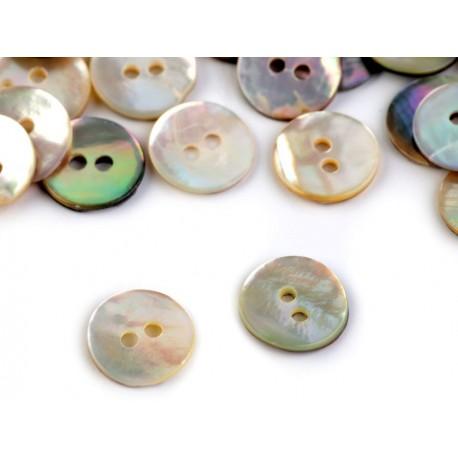 Perleťové gombíky - 10 mm