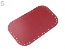Dno na kabelku - červené (18 x 28 cm)