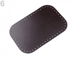 Dno na kabelku - hnedé (18 x 28 cm)