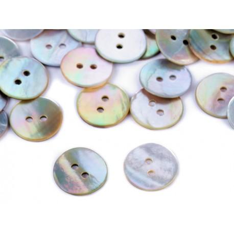 Perleťové gombíky - 15 mm