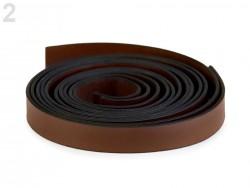 Rúčky na tašky tmavo hnedé - polotovar - 15 mm