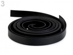 Rúčky na tašky čierne - polotovar - 15 mm