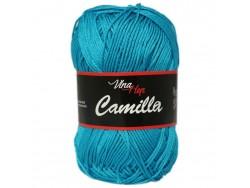 Camilla - tmavá tyrkysová