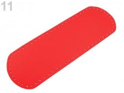 Dno na kabelku - červené (12 x 36 cm)