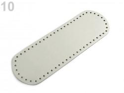 Dno na kabelku - najsvetlejšie šedé (10x 30 cm)