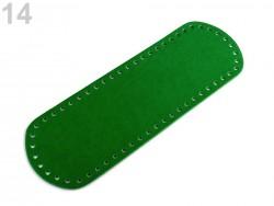 Dno na kablku - zelené (10 x 30 cm)