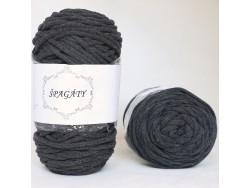 Špagáty - antracitový - 3,5 mm