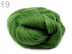 Česané merino - zelená papraď