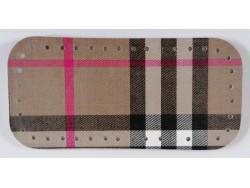 Dno na kabelku z koženky - multikolor (12 x 25 cm)