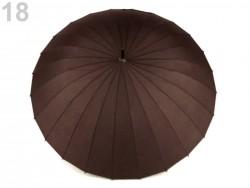 Dámsky dáždnik - hnedý