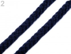 Odevná šnúra na vak Ø 9 -10 mm - kráľovská modrá