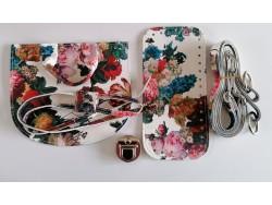 Súprava na batoh - kvetovaná
