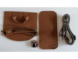 Súprava na batoh - svetlo hnedá