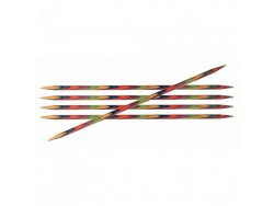 KnitPro Symfonie - ponožkové ihlice (10 cm) - 2.00 mm