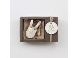 Cohana Seki mini nožnice - biele (vianočná limitovaná edícia)
