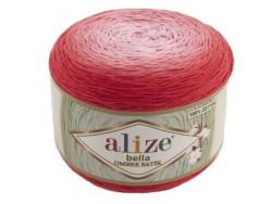 Bella Ombre Batik - červená