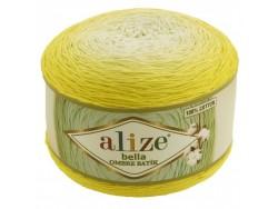 Bella Ombre Batik - žltá ľalia
