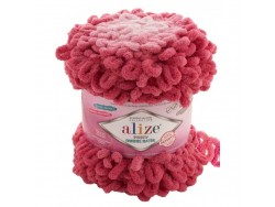 Puffy Ombre Batik - ružové odtiene