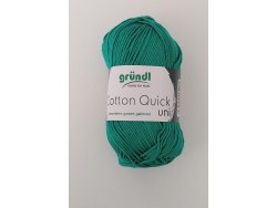 Cotton Quick Uni - smaragdová