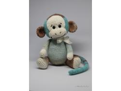 Návod - Háčkovaná opica od Miri