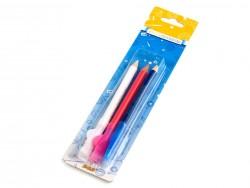 krieda v ceruzke so štetcom